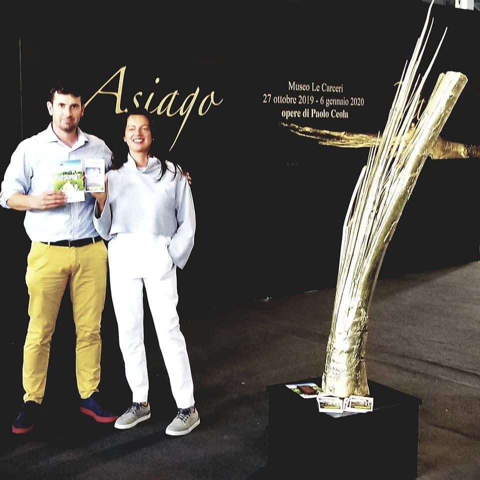 Nicola Lobbia e Monica Gios