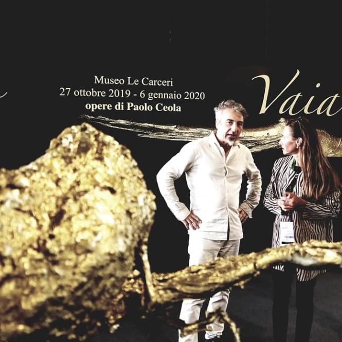 Paolo Ceola e Lucia Spolverini